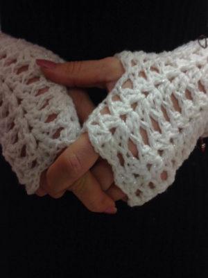 χειροποίητα πλεκτά γάντια