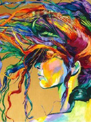 diamont Art girl